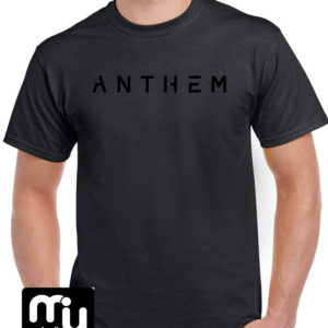 Anthem Logo Tee – Black