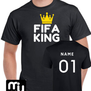 Fifa King Tshirt – Black