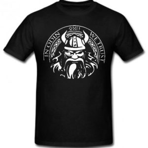 In Odin We Trust Tee – Black